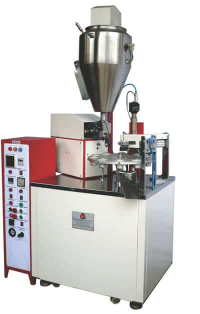 Semi-Automatic-Plastic-Tube-Filling,-Sealing,-Coding-&-Trimming-Machine-Model-Exomatic-T-30